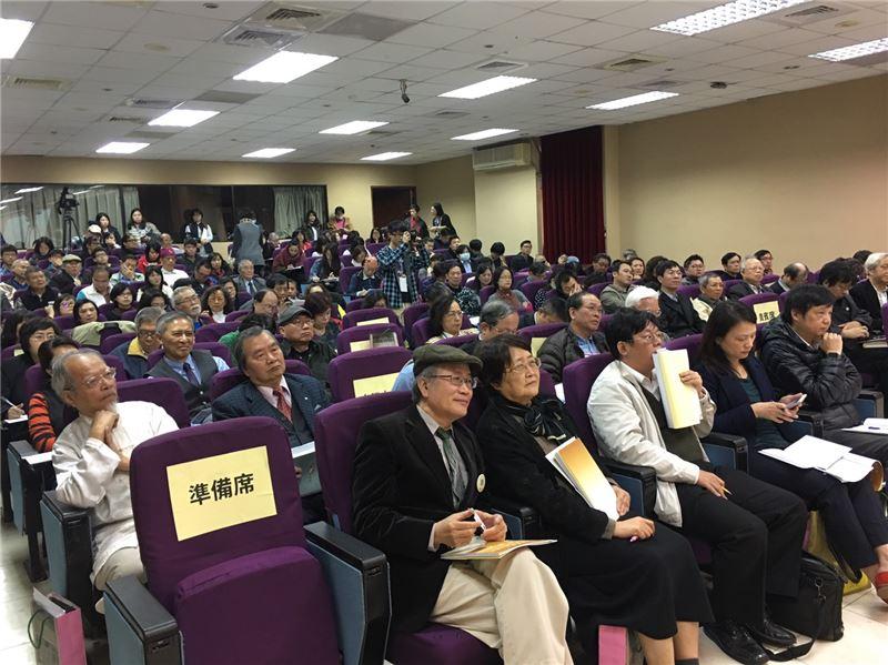 產、官、學、民各界人士超過兩百人參與,現場發言踴躍,齊心關注國家語言整體發展。