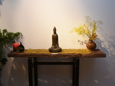 """The Work """"Guanyin in Peace""""。"""