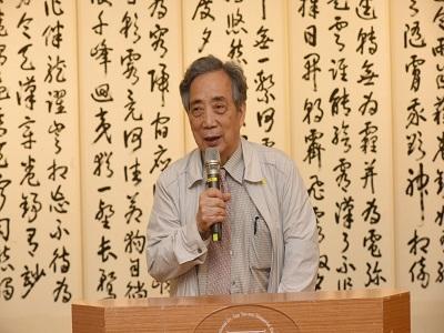 臺南市美術館黃光男董事長致詞.