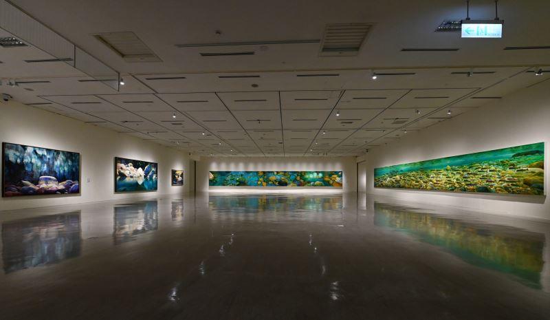 國美館「林惺嶽:大自然奇幻的光影」展場 (4)