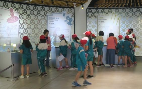 研揚藝術光點活動來自彰化縣大村國小同學的見學之旅