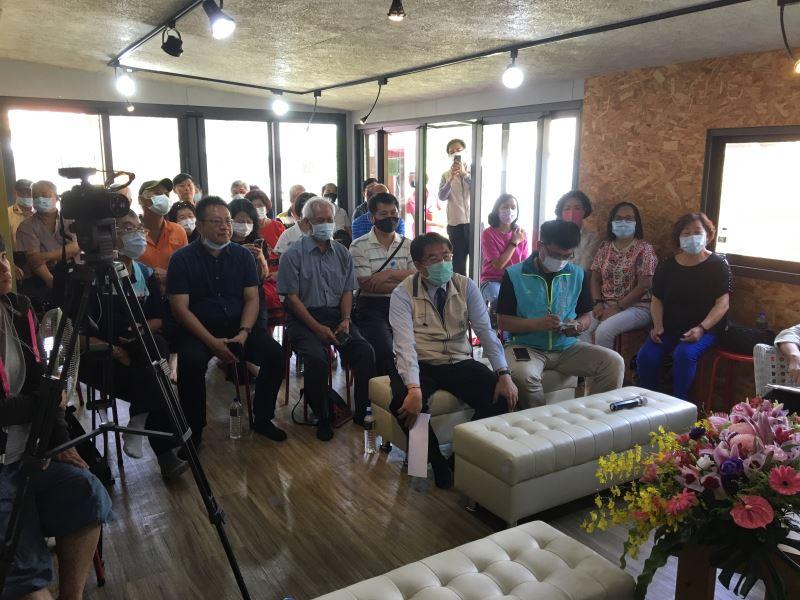 台南吉貝耍場次開幕論壇,台南市長親蒞現場