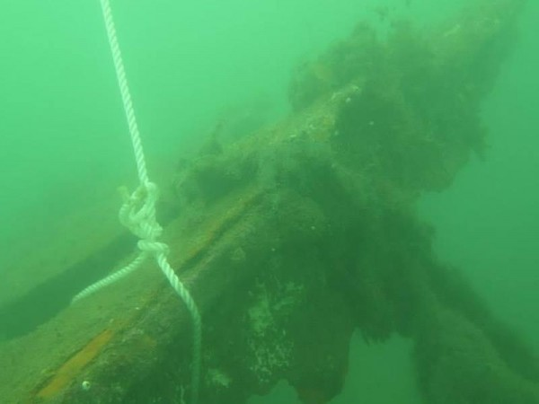 The wreckage of British steam ship SS Sobraon, a 7,382-ton vessel that sank in bad weather in April 1901, was confirmed to be near Taiwan's Tungyin Island in July 2014.