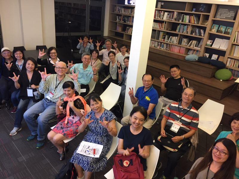 圖2__人權館舉辦手語培訓課程,落實文化平權促進與聾人聽障觀眾的友善溝通