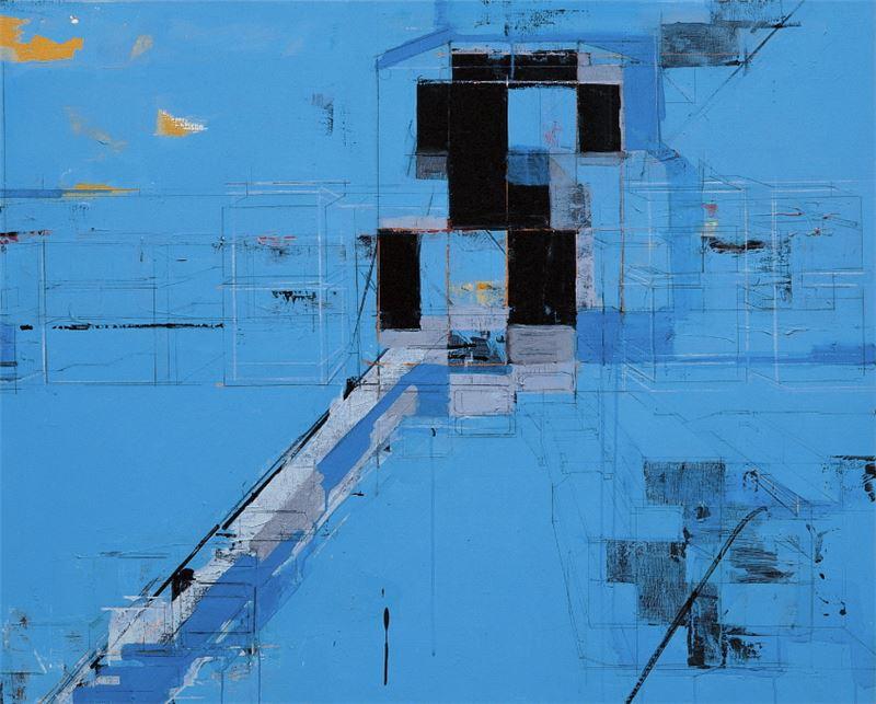 CHEN Chien-Jung〈Sky Blue XIII〉 Detail