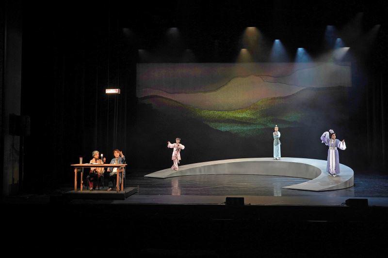 韓麗美、韓志保、祝賢宗 三人異地相逢,各懷心思_薪傳歌仔戲劇團《望鄉之夜》