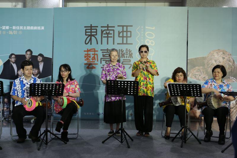 東南亞民謠培力 泰國杯形鼓學員成果演出