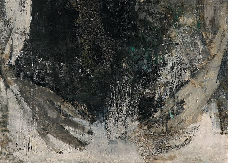 Gu Fu-sheng〈Figure〉Detail