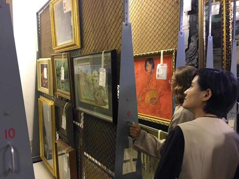美國爾灣順天美術館無私捐贈館藏返台 鄭麗君:重建台灣藝術史跨出重大一步
