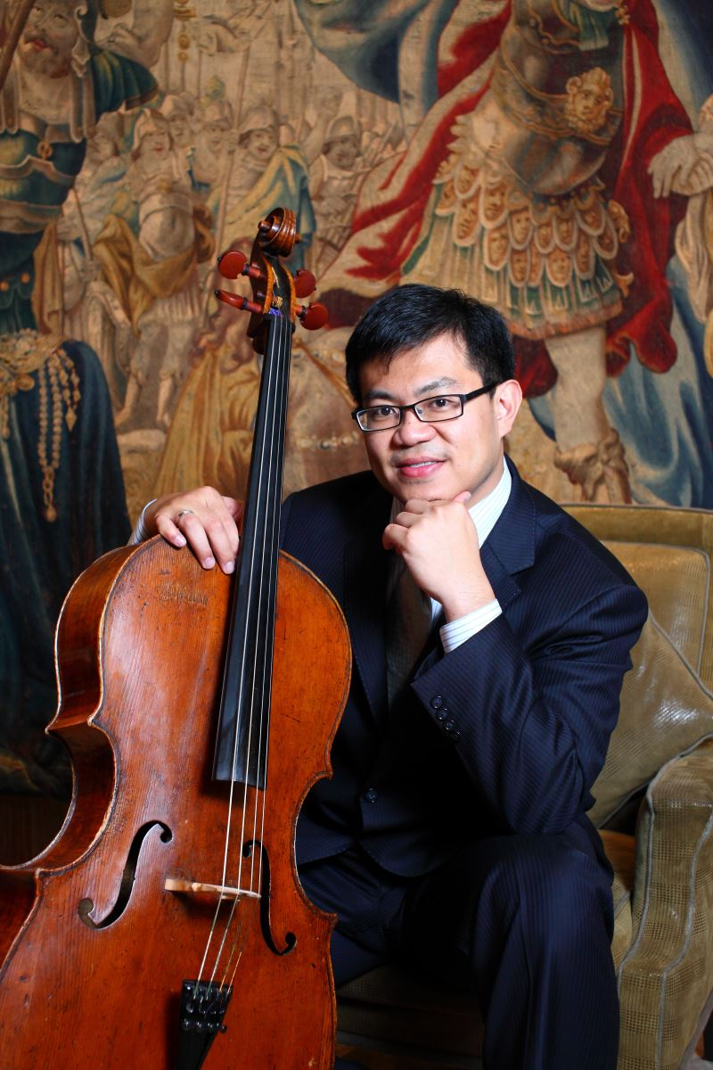 大提琴家兼知名法式甜點店「ISM Pâtisserie主義甜時」創辦人陳世霖