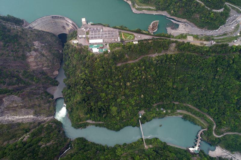 本次工作坊研究個案-大甲溪水力發電系統設施群