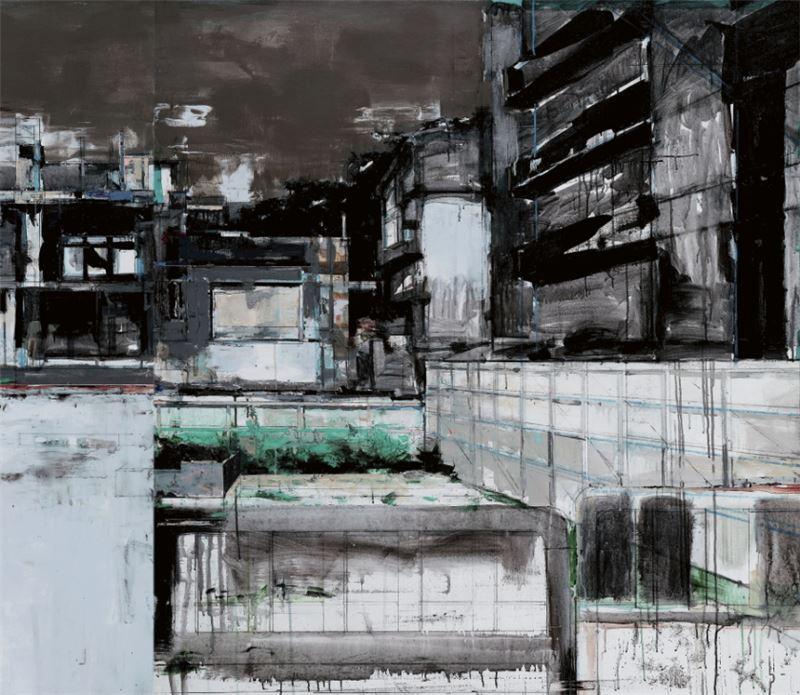 陳建榮〈Landscape 78〉 局部圖