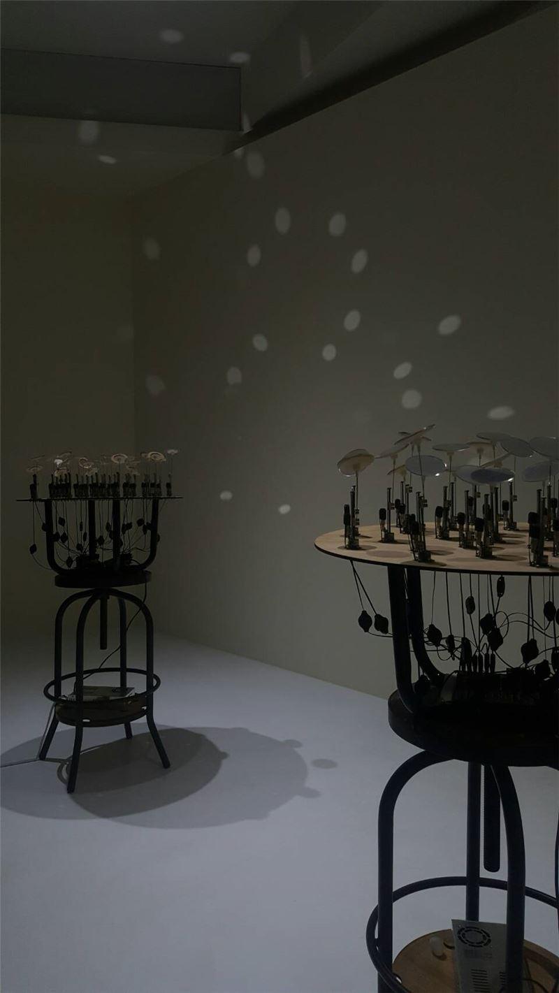 陳韻如,聲機勃勃Ⅱ - 共生,2014,裝置與新媒體(展場照)