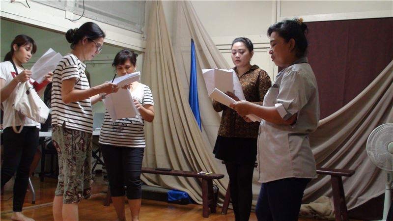 新臺客特展戲劇活動與專業劇團合作,以生命故事為主題共同創作、排練。