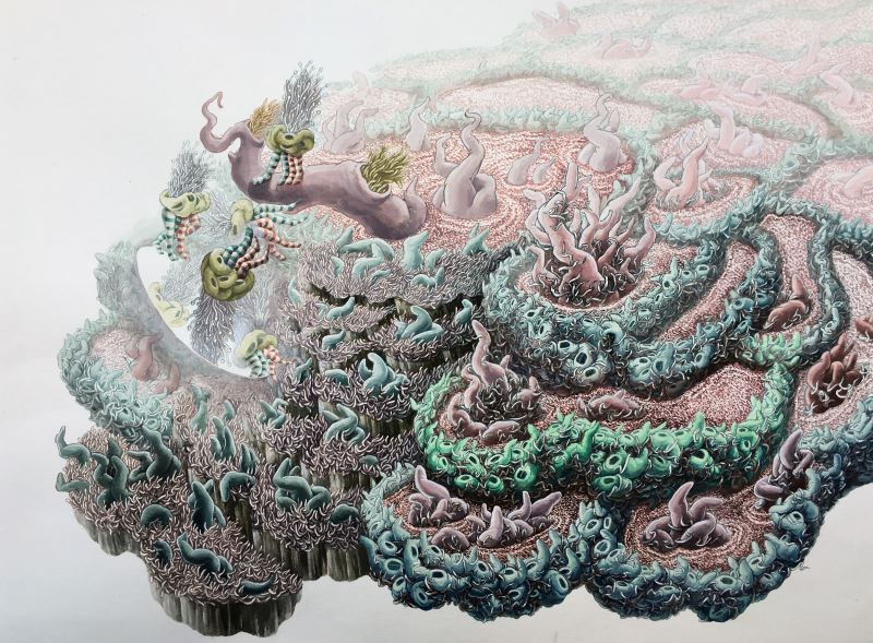 Ying-Chen Chiang 《The Balance After Chaos-3》(2019)