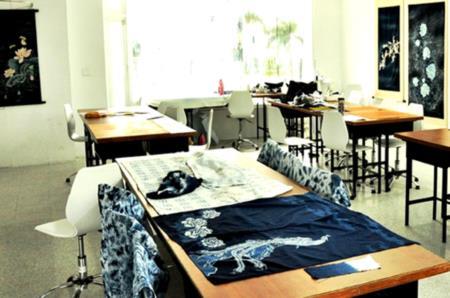 3F藍染工坊-手作藍染作品歡迎體驗