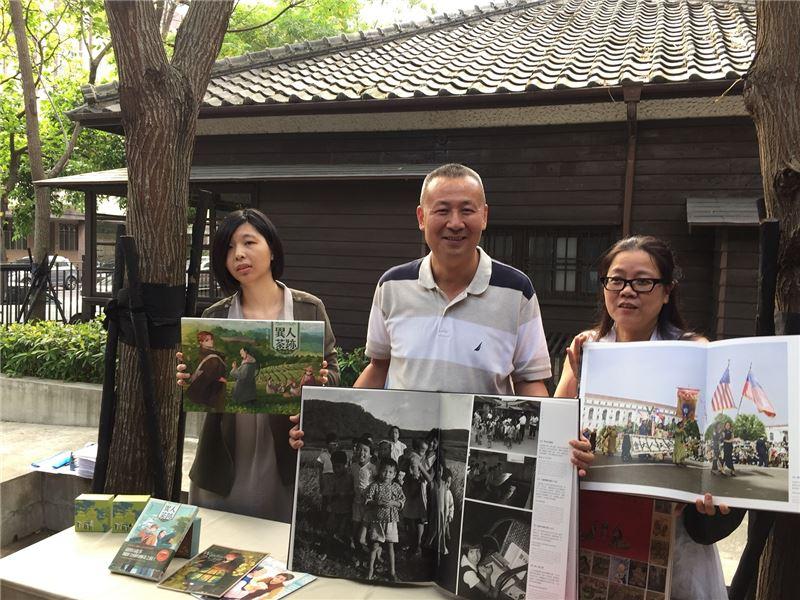 2015年法蘭克福書展以i, TAIWAN為主題,邀請漫畫家張季雅、出版人徐宗懋、設計師黃寶琴至德國交流