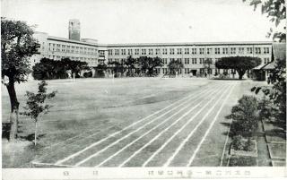 臺北州立第一高等女學校-校庭