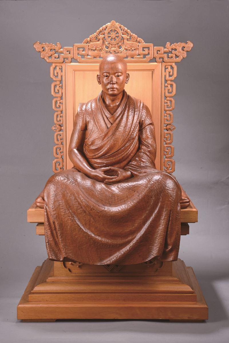 國立傳統藝術中心典藏作品〈法相〉。