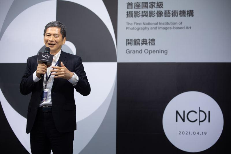 文化部長李永得於開館典禮上致詞