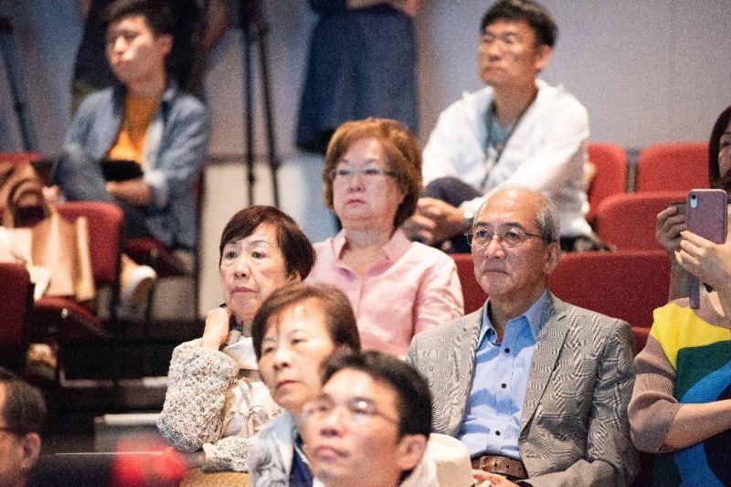 參與臺灣珍貴音樂文物捐贈記者會嘉賓