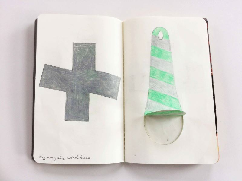 Lucy Sarneel, notebook page