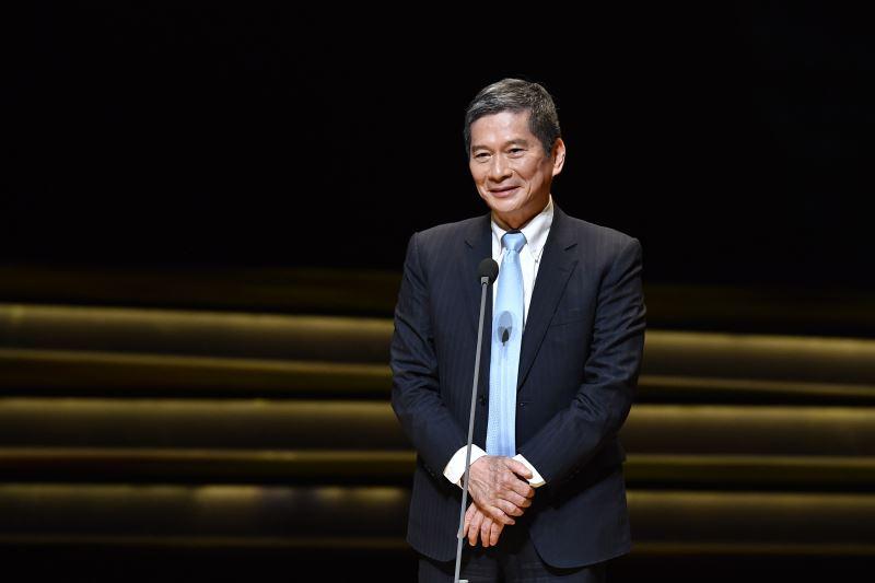 文化部長李永得出席第31屆傳藝金曲獎頒獎典禮,感謝所有文化工作者為傳統藝術創作與傳承奉獻。