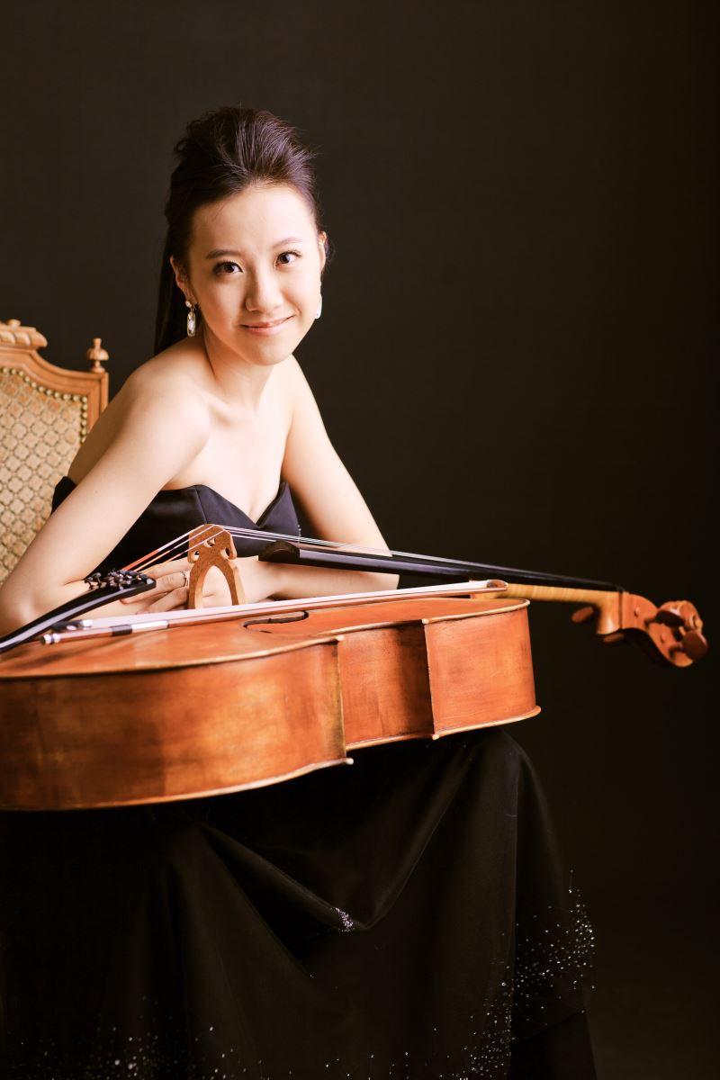 大提琴家廖璽喬