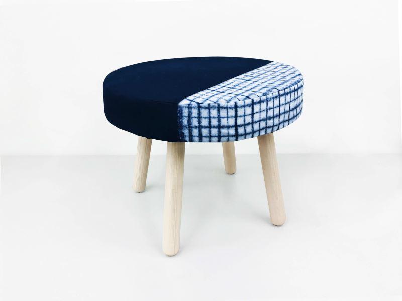 太平藍_藍染椅凳-