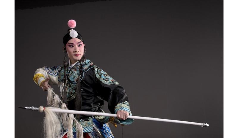 《叫關》京劇小生代表性劇目,由張家麟主演羅成。