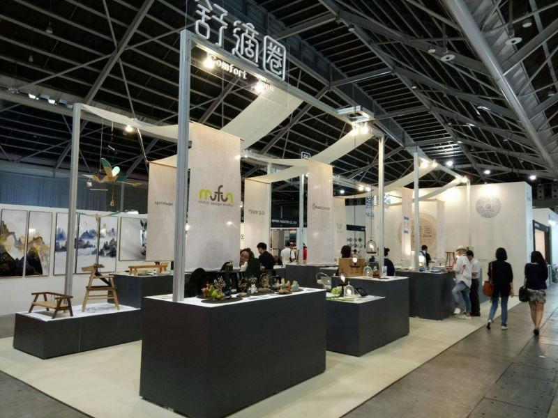 新加坡國際家具展-工藝中心攤位展覽實景
