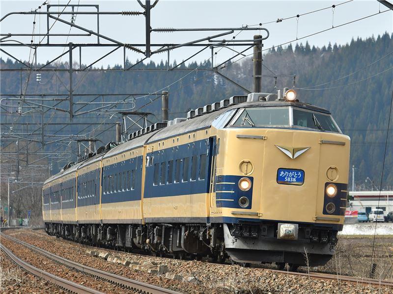 583系列車(大宮鐵道博物館提供)
