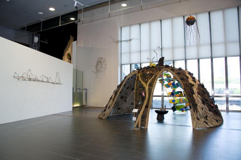 拉黑子‧達立夫作品〈海 美/沒 館〉正於國美館展出,23日將推出國美館