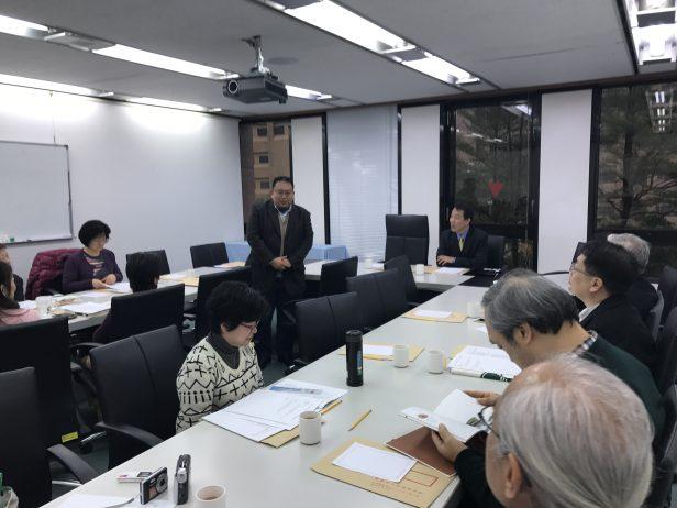 第12屆第2次董監事聯席會議─蒙藏委員會代表張參事致詞