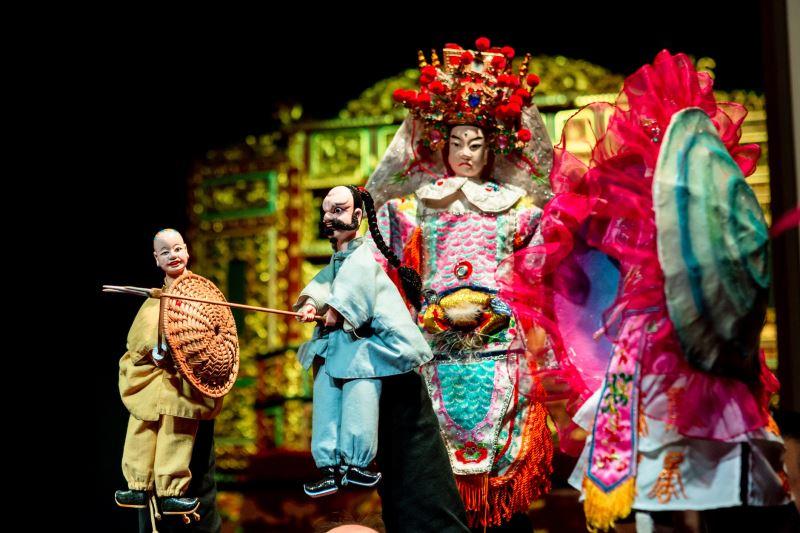 臺北木偶劇團《白賊燈猴天借膽》 ©臺北木偶劇團