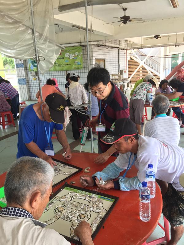 嘉義東石老人參加酷獸行動博物館教育活動