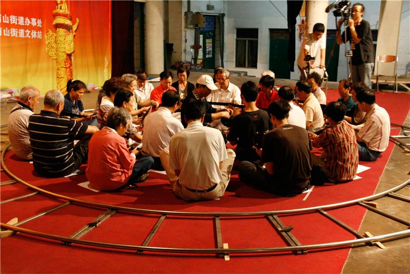 林其蔚〈深圳-聲音社會測量 2009〉