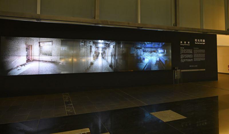 國美館「黃偉軒:和光同塵」展場