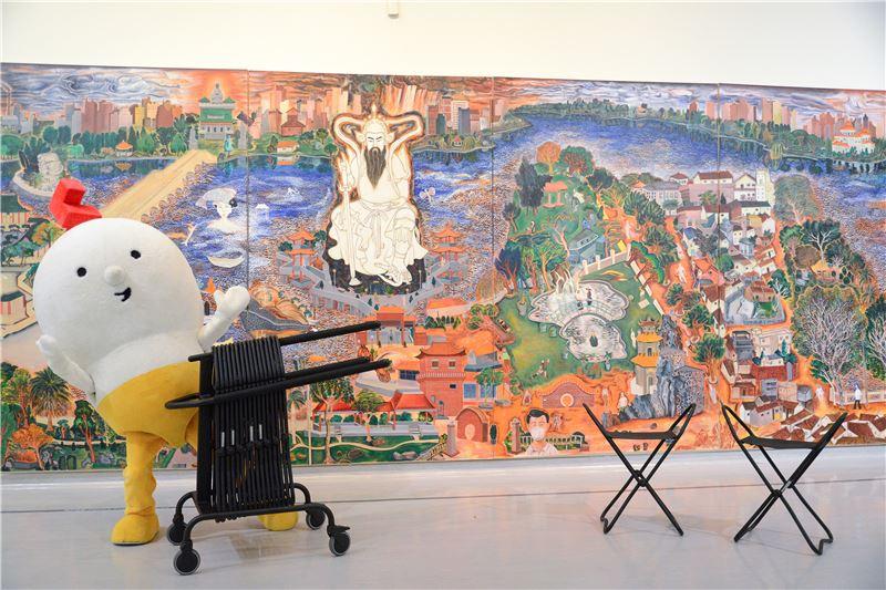 博物館椅子借用宣傳(照片)