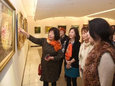 04台北市西畫女畫家畫會會員高淑慧現場導覽
