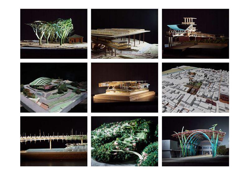 工作模型_田中央工作群手作,企圖展現山海水土連接且營造出生活場所的建築理念