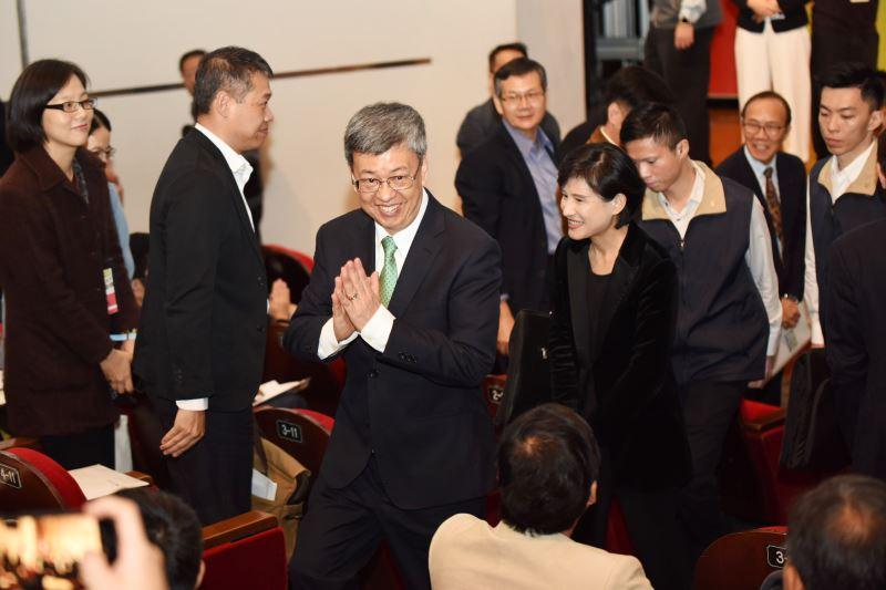 陳建仁副總統及文化部長鄭麗君親臨與會,與近400位關心臺灣社區營造發展的公民共同參與。