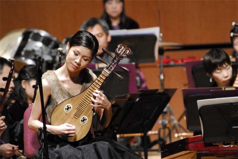 """ Cat's Song without Words, a liuqin""  lute concerto ( Ma Cuei-yu , the liuqin lutist)"