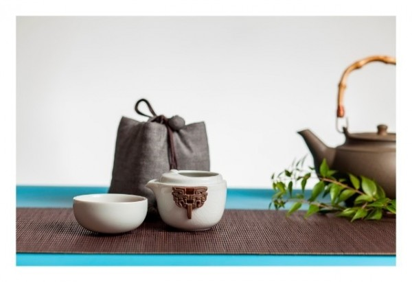 Sapphire Jade with Blessings / Topaz of Happiness – Tea Sets