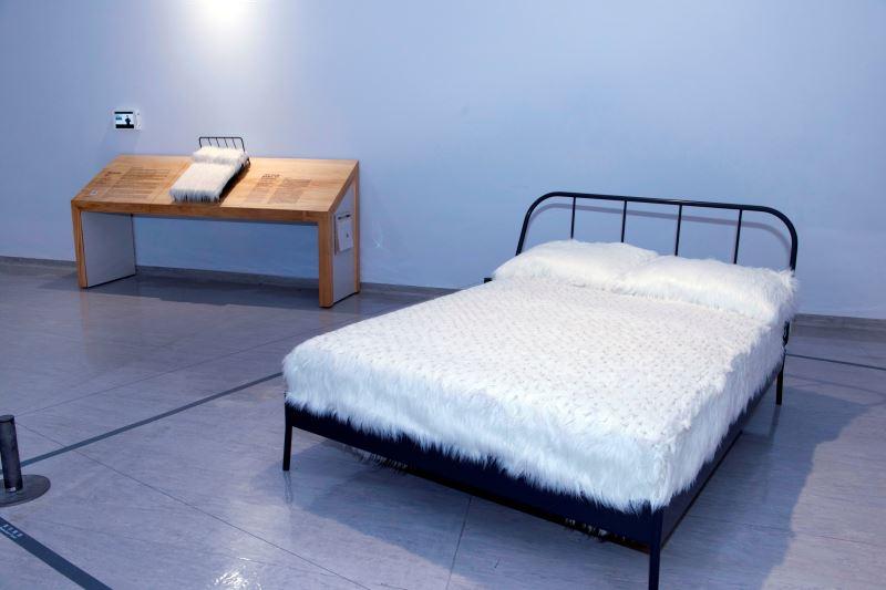 國美館「聚合‧綻放」3D觸摸輔具 (陳慧嶠〈睡吧!我的愛〉)