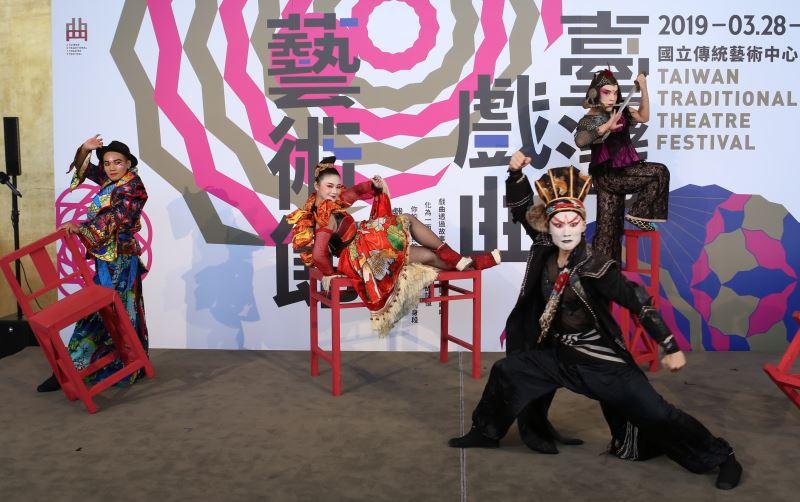 「當代傳奇劇場」將在臺灣戲曲藝術節中首演愛丁堡藝穗節演出作品《英雄武松》