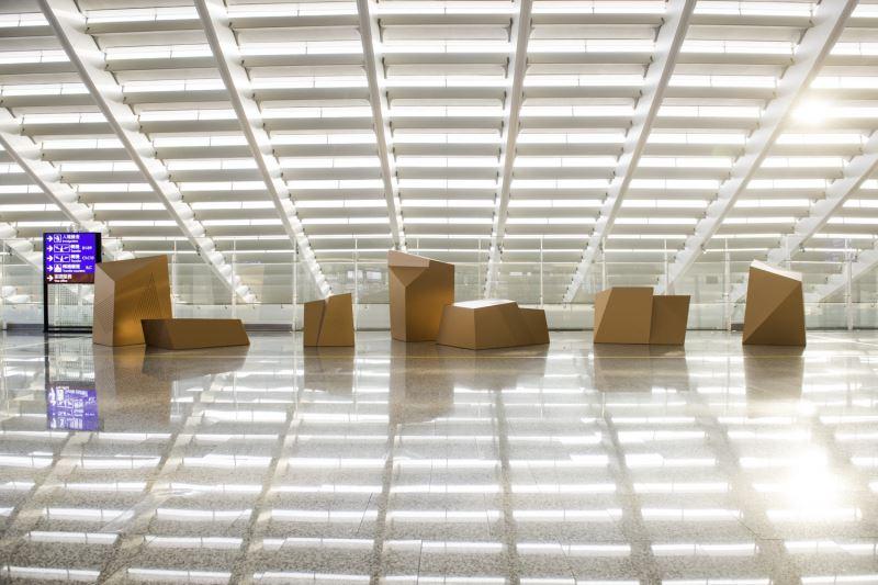 【入圍─環境融合獎】桃園國際機場第一航廈改善工程專案計畫公共藝術設置計畫