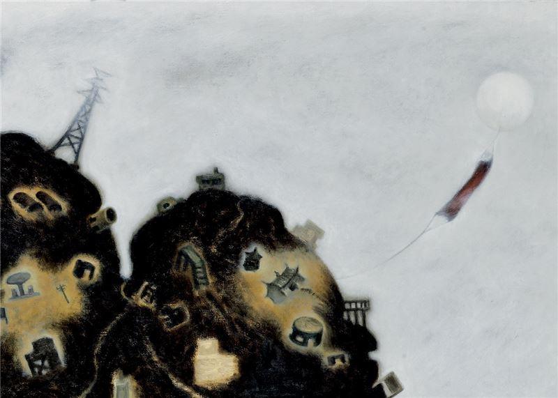 SU Wang-shen〈An Island of Castles〉Detail