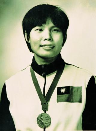 紀政1968年獲得墨西哥奧運銅牌