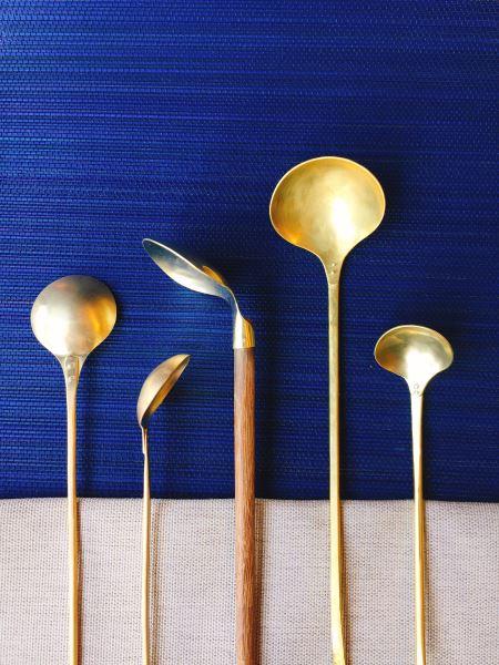 各式黃銅匙